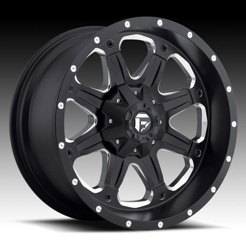 MHT Fuel Boost 20x9 Black Wheels All Trucks/SUV