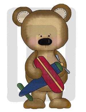 TEDDY BEAR & TOYS BABY BOY NURSERY WALL STICKERS DECALS