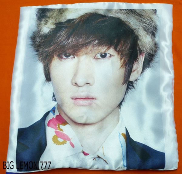 EunHyuk In SUPER JUNIOR Cushion Pillow Cover /Pillowcase Satin Q1