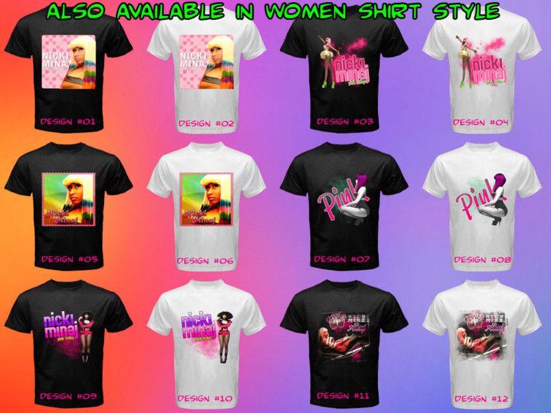 Nicki Minaj Wayne Rap Pink Friday New T Shirt Shirt Tee
