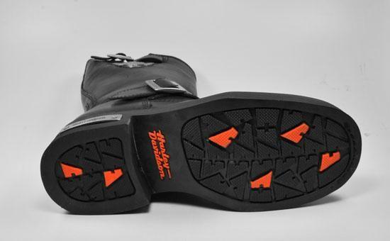 HARLEY DAVIDSON New Mega Conductor Motorcycle Black Boots 91135 WIDE
