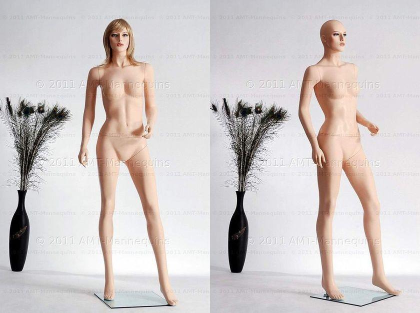 mannequins display female mannequin   Beth+1wig (#251)