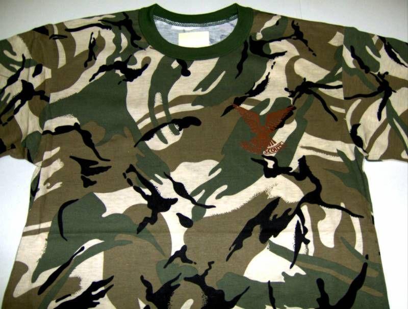 Rhodesia Selous Scouts Spec Ops t shirt AFRICAN CAMO