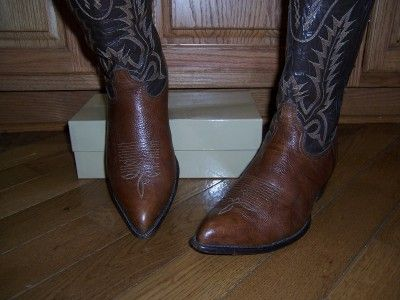 TONY LAMA 6552 WESTERN COWBOY BOOTS MENS 10 1/2 EE